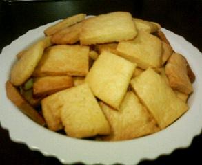 山盛りクッキー